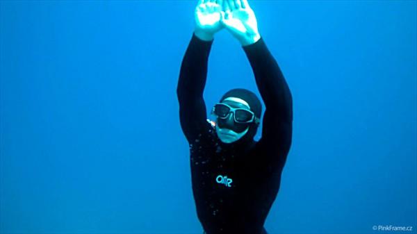 Freediving a podvodní kamery