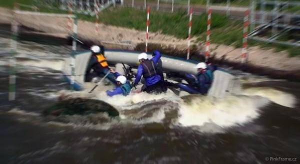Kurz raftingu Rekreologie, Univerzita Palackého