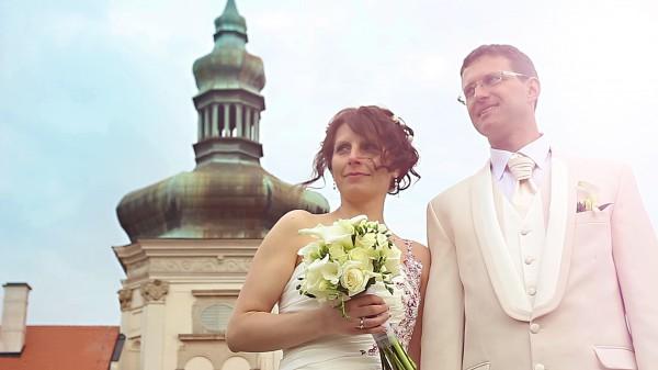 Svatební video z Galerie Středočeského kraje v Kutné Hoře