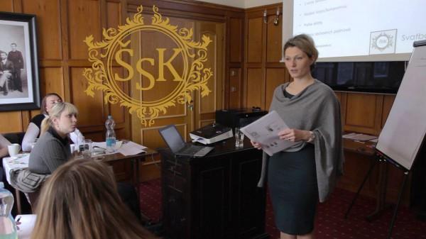 video-pozvánka na živý seminář Školy svatebních koordinátorek